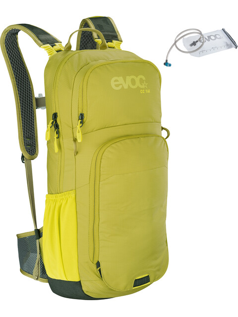 EVOC CC - Mochila bicicleta - 16l + Bladder 2l verde